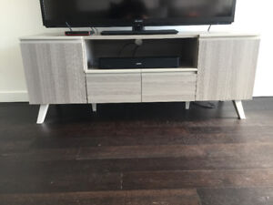 Near new Entertainment Unit from Scan Designs