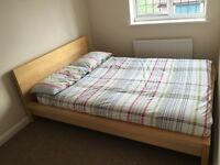 Malm Double Bed