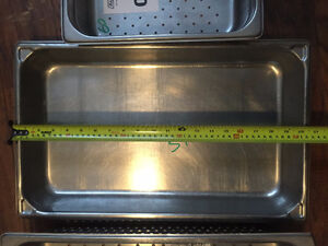 Five (5) serving dishes (chafing dishes) Kitchener / Waterloo Kitchener Area image 5