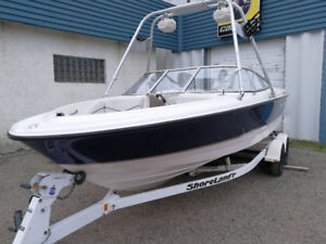 All round family boat with tower  .Great price!!