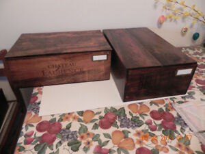 #3 Wooden Storage Boxes
