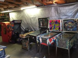 Wanted - Pinball & Arcade Machines