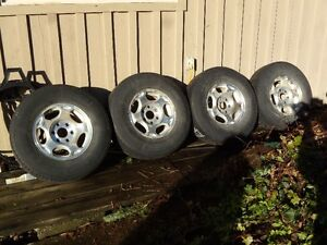 chevy/ gmc tires and rims 16""