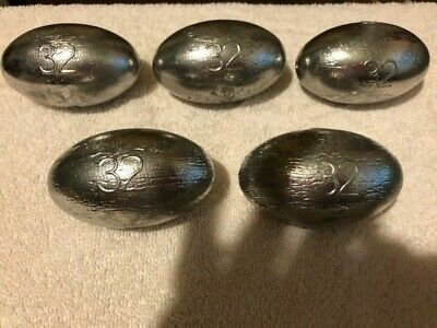 Egg Sinkers 2.5 Oz Colors 11 Painted, 50