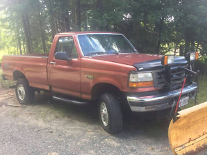 1994 ford f250 reg cab Long box 4x4 up for trades