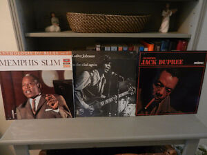 Vinyl Records/LP's Blues John Lee Hooker,Little Mac Simmons Etc