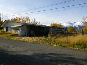 Downtown Atlin house & shop for sale