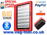 """Refurbished Launch x431 PRO3 S Full Diagnostic 10"""" Tablet set as good as VCDS Vagcom Delphi Snap-on"""