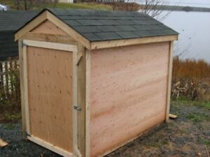 Small Plywood Shed
