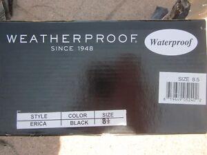 ** NEW Weatherproof Ladies Waterproof Boots - Size 8.5 - Black Cambridge Kitchener Area image 6