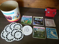 Vintage View-Master Gift Pack Toy: Disney, APOLLO, Casper - Lot