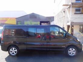 NO VAT Renault Trafic 2.0dCi LWB sport 5 seat factory fitted crew cab van (23)