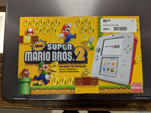 Nintendo 2DS Mario Brothers Edition (Brand New)
