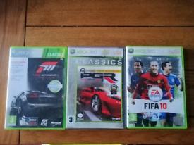 Classic Xbox 360 Games (x3)