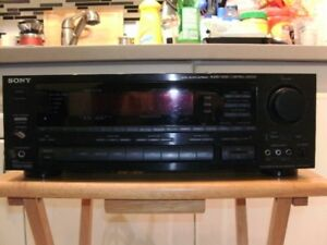 SONY STR-AV1070 STEREO RECEIVER