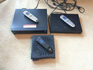 Bell Satellite TV Receivers for Sale!  HD PVR Plus Included!