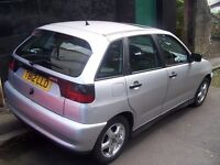 SEAT Ibiza 1.4 and POLO (similar), NEW TEST, CHEAP- low insurance, runs well only £395