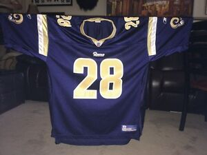 Football Jersey #28 - St. Louis Rams - NFL