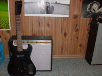 Silvertone tube amp and guitar for sale or trade