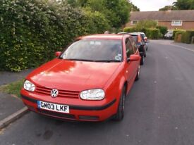 Volkswagen Golf 1.4, 12 months MOT. £850 pounds