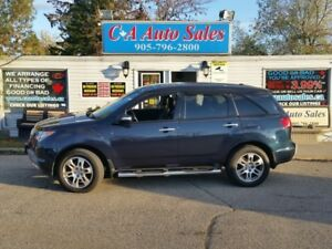 2009 Acura MDX Tech Packag non aciandent XMAS sale on Now don't