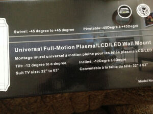 "Tygerclaw HDTV Wall Mount LCD4102BLK.. 32"" to 63"""
