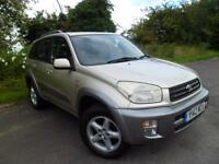 TOYOTA RAV4 2.0i VVT-I VX AUTOMATIC FULL LEATHER ALLOYS LOW MILES, Beige, Auto,