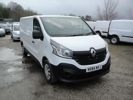 2014 Renault Trafic 1.6 DCI LL29 115 Business LWB Van. Only 23,000 miles.