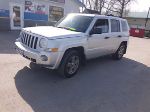 2007 jeep patriot 4x4 4cyl certified etested