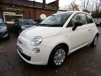 Fiat 500 1.2I POP (BLUETOOTH + LOW RATE FINANCE AVAILABLE) (white) 2010