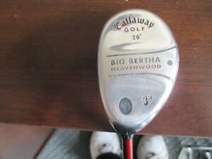 LEFT HAND CALLAWAY BIG BURTHA HEAVENWOOD HYBRID 20 DEGREES FOR S