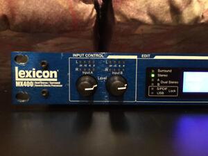 Processeur d'effets Lexicom MX400