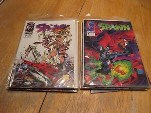 Spawn comics #1-18