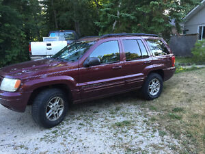 Price drop!! 2000 Jeep Grand Cherokee Limited SUV, Crossover