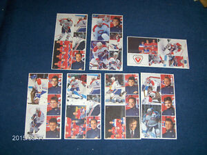 LOT OF 7 VACHON CAKES-MONTREAL CANADIANS HOCKEY STICKER CARDS!
