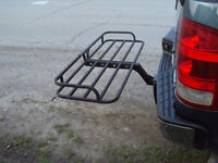 rack for the back of travel trailer or motorhome