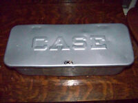CASE TRACTOR TOOL BOX