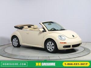 2010 Volkswagen New Beetle Comfortline AUTO A/C CUIR DÉCAPOTABLE