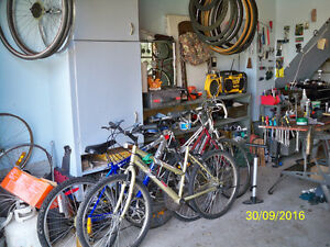 Assorted bikes for spares or re- furbishment Stratford Kitchener Area image 1