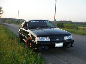 1987 Ford Mustang GT Hatchback 5.0 - NO E-TEST