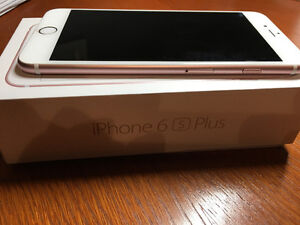 Iphone 6s Plus 64g Rose Gold - Rogers