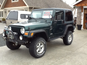 2000 Jeep TJ Sport Coupe (2 door)
