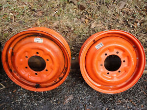 6 BOLT TRACTOR WHEELS