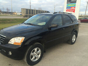 2008 Kia Sorento Awd SUV, Crossover,only $3990 obo new safetied
