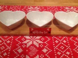 ❤️ Brand new heart dipping set still packaged