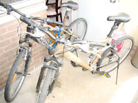 2 bicycles for sale (reduced price)