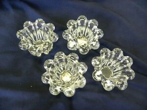 Case of 24 Crystal Candle Holders $50.00 ono