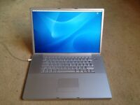 Apple PowerBook G4 Laptop - Massive 17 inch screen