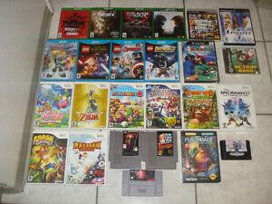 NES,SNES,Genesis,Wii U,PS3 & More Games!