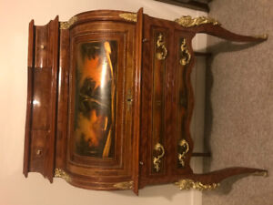 Antique Mahogany Writing Desk/Chest